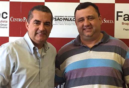 Fatec Bragança recebe visita do Diretor da Fatec Zona Leste