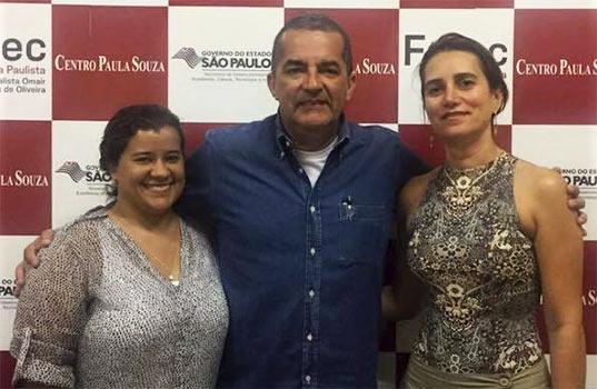 Fatec Bragança recebe visita da Diretora Acadêmica e Assistente Técnica Administrativa de Guarulhos