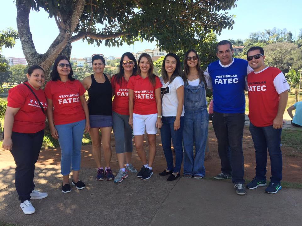 Fatec Bragança realiza evento de divulgação do vestibular no Lago do Taboão