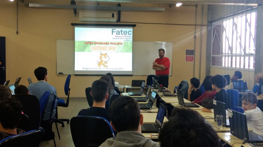 ACONTECE NA FATEC BRAGANÇA | O evento Bragança Scratch Day