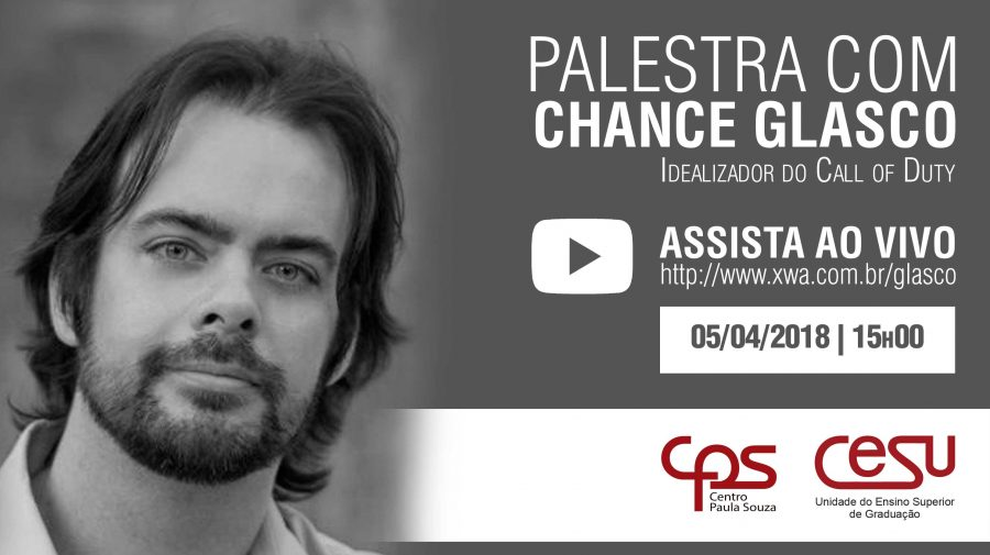 Palestra com Chance Glasco