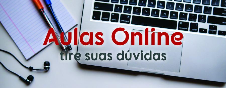 Canal de dúvidas para as aulas online